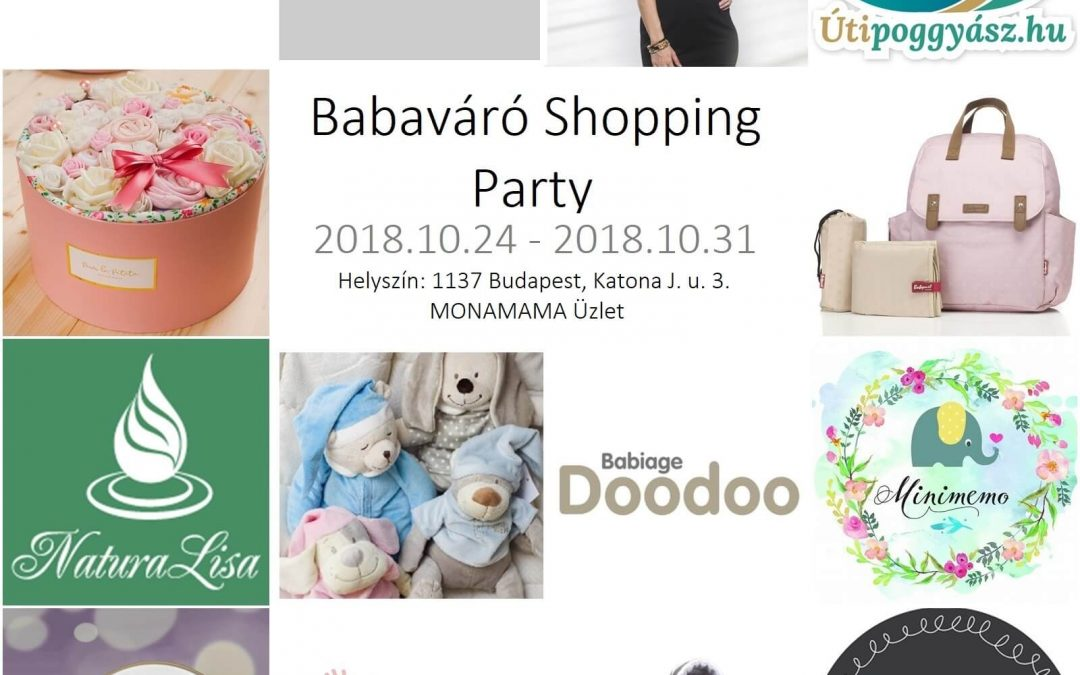 Babaváró Shopping Party